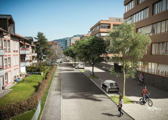 Arealentwicklung Säntisstrasse