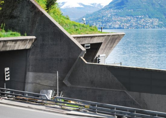 Ticino Highway Guard Rail