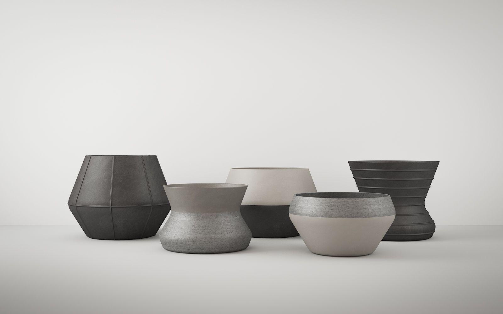 Stone Vases 720
