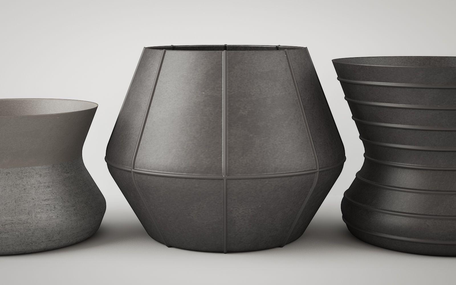 Stone Vases 721