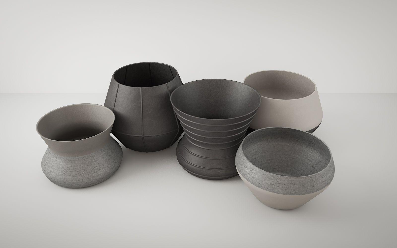 Stone Vases 722