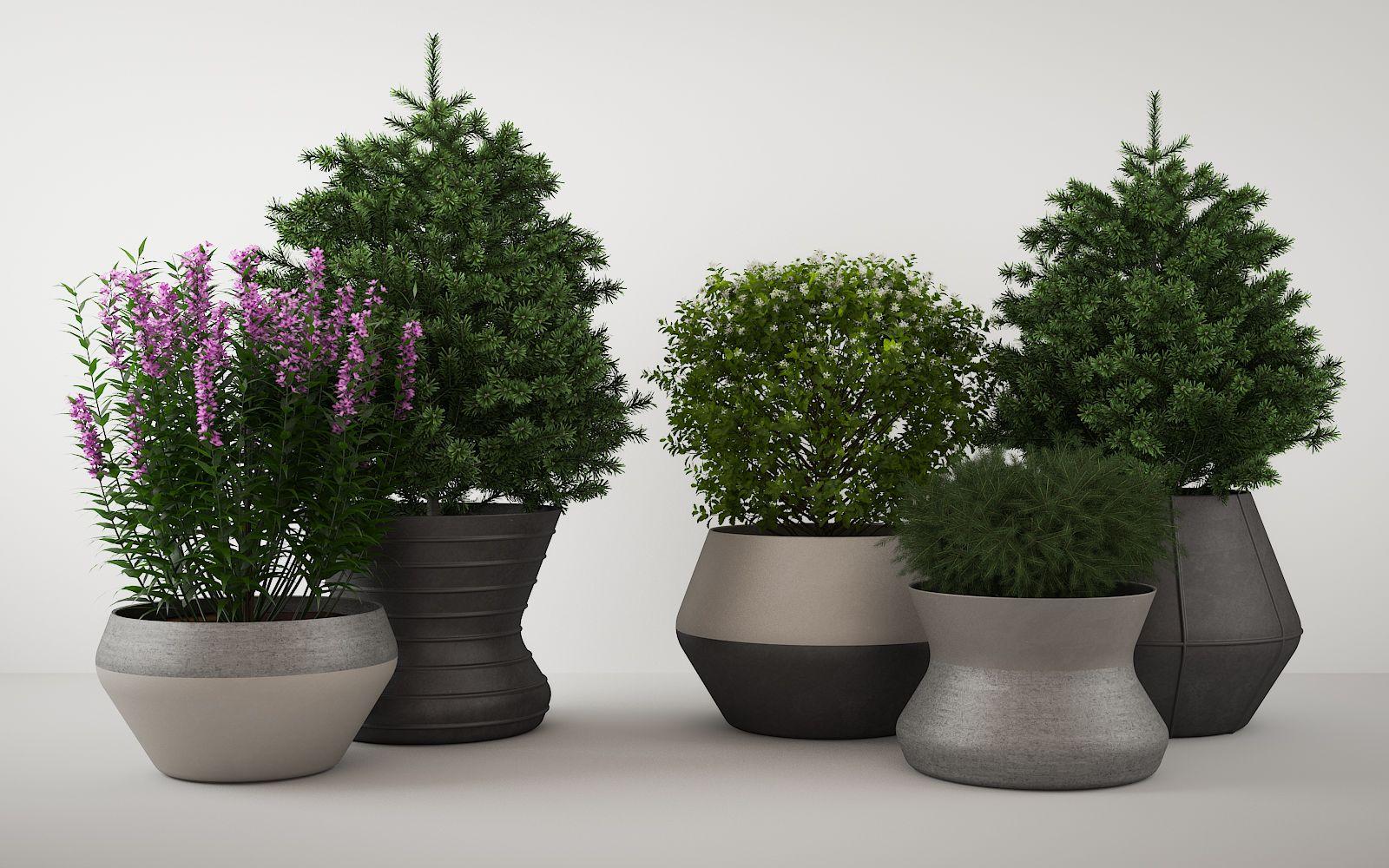 Stone Vases 723
