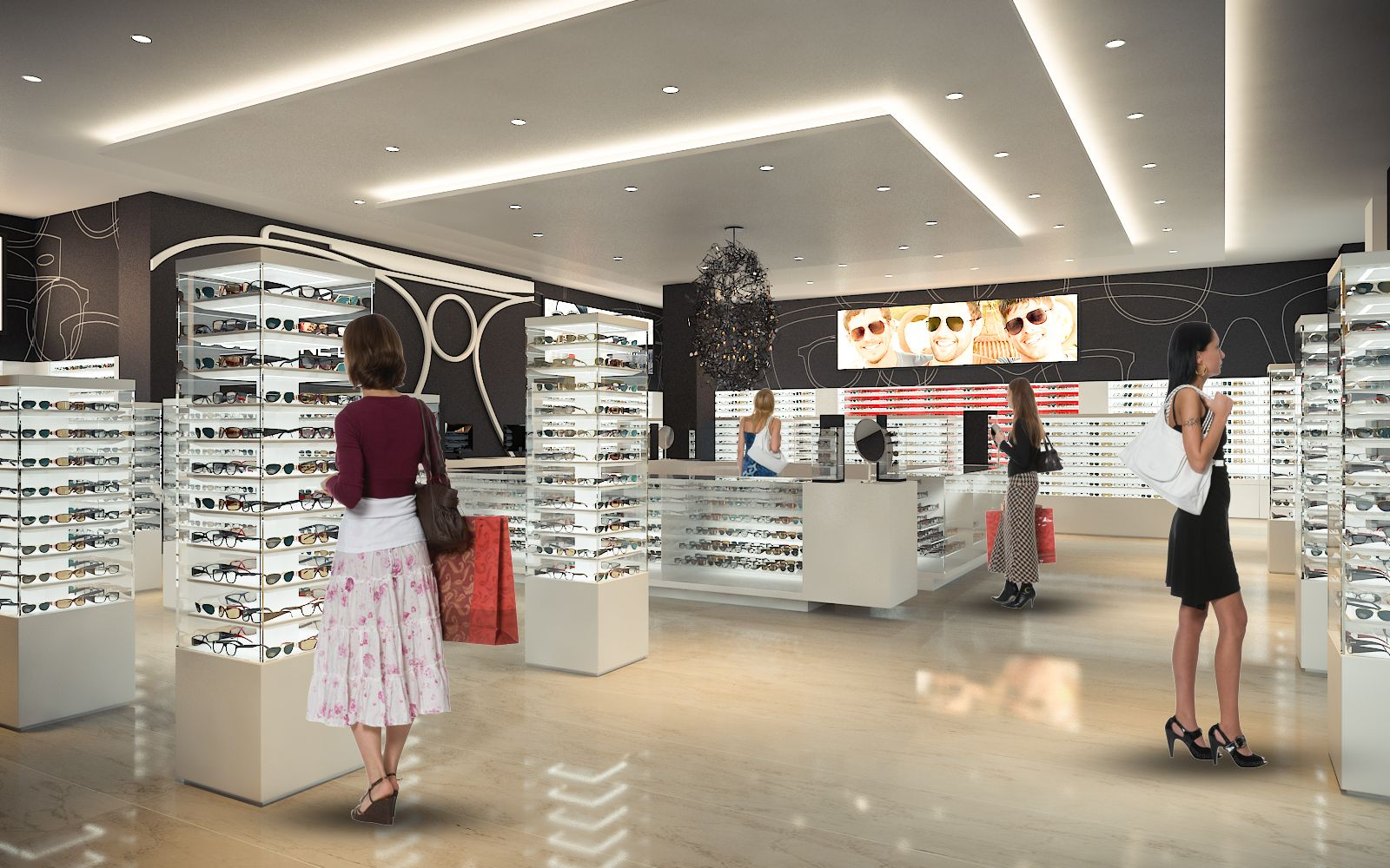 Eyewear Store - Dolphine Mall 734