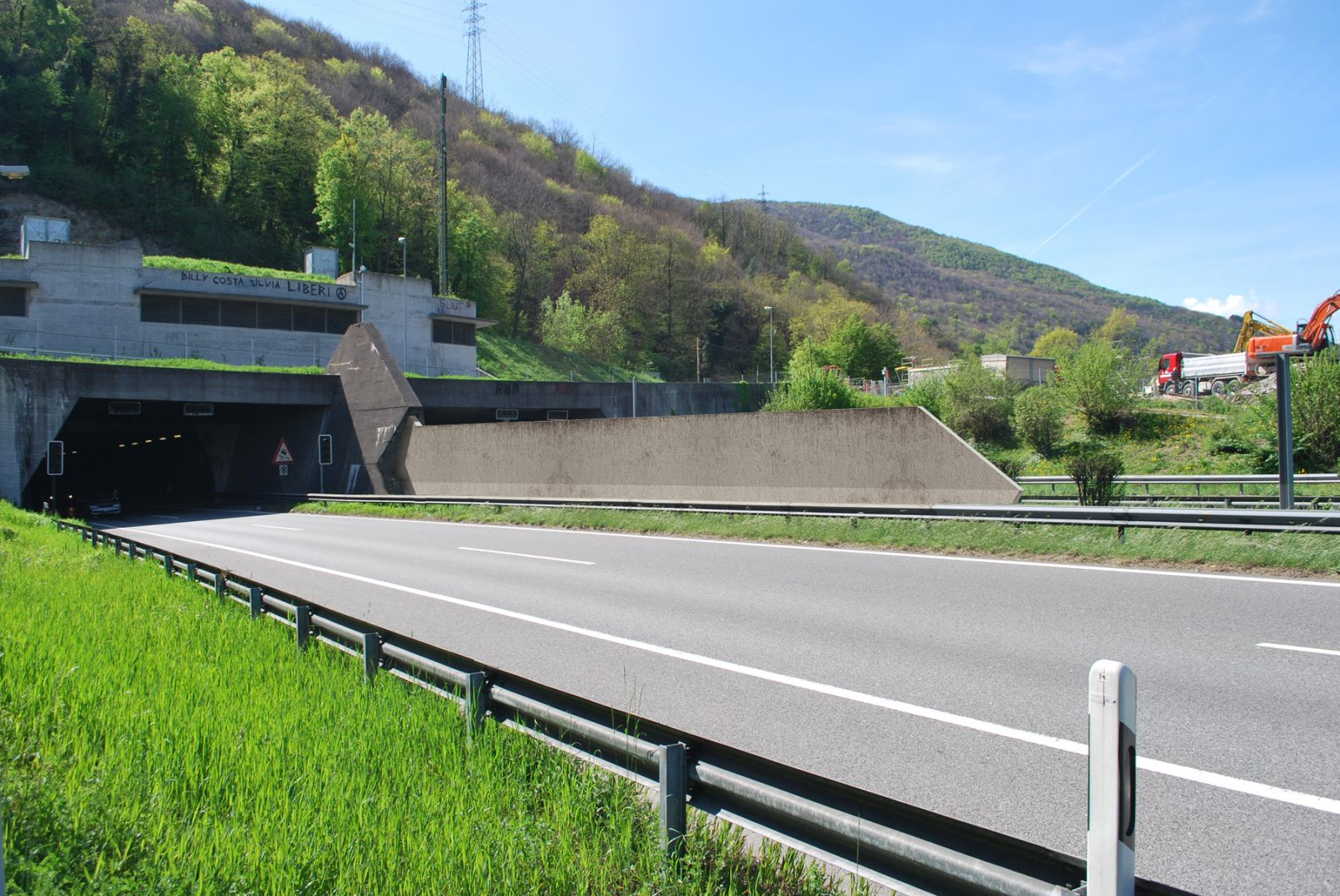Ticino Highway Guard Rail 739