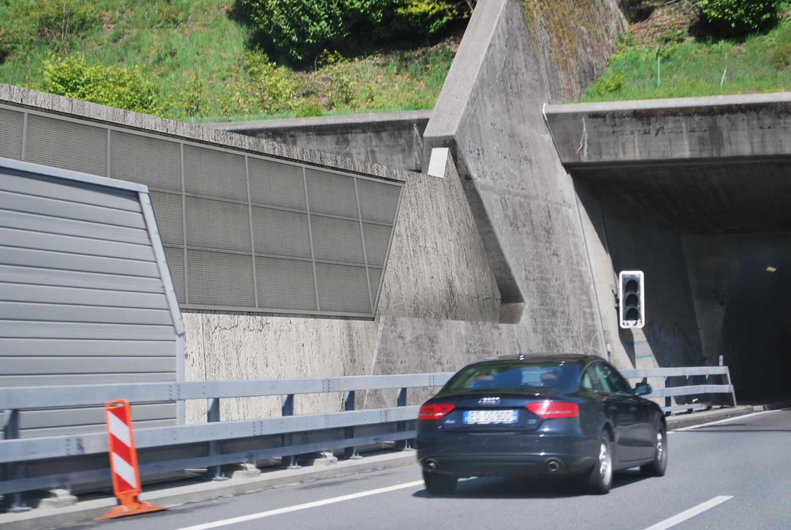 Ticino Highway Guard Rail 741