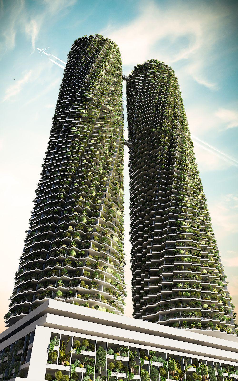Rotating Towers - Miami 806