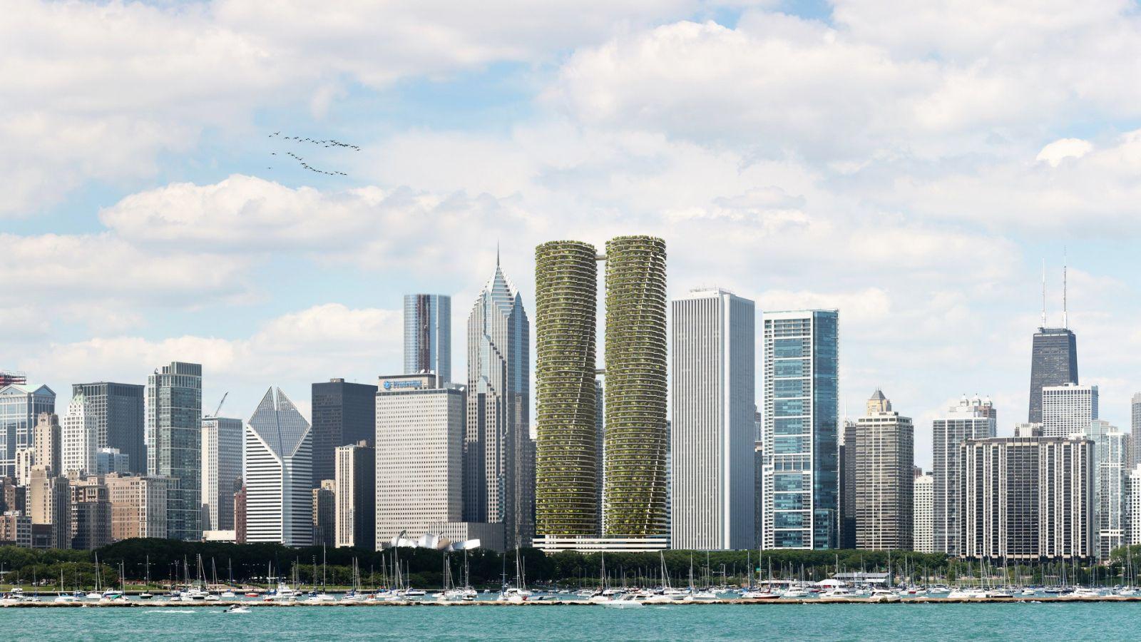 Rotating Towers - Miami 807