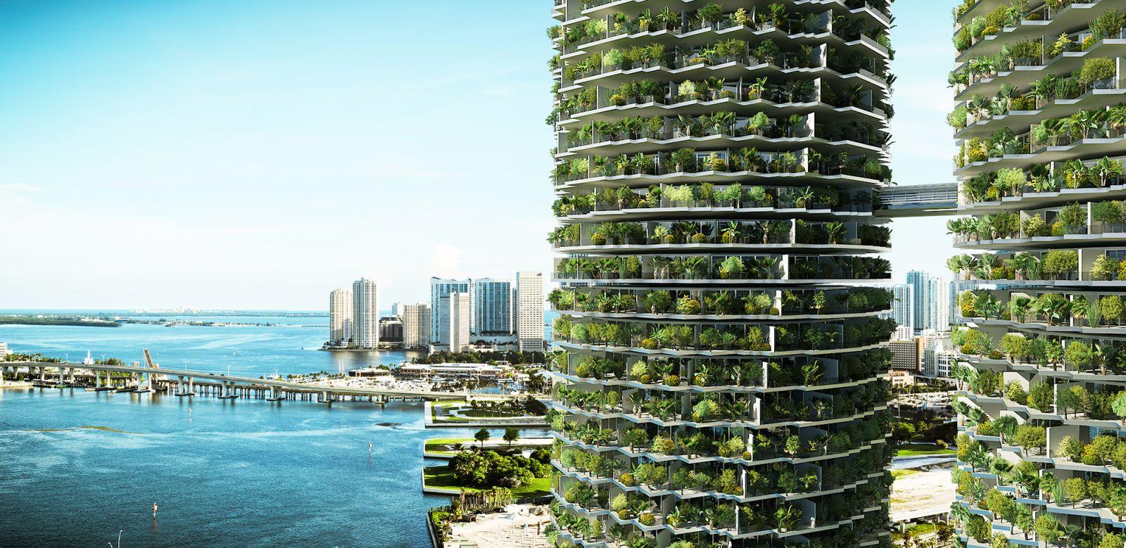 Rotating Towers - Miami 808
