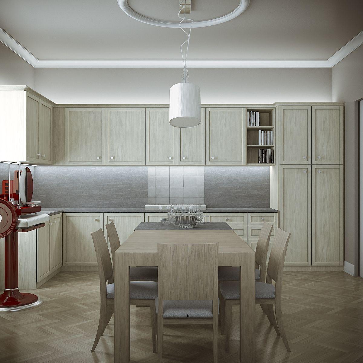 Family Home - Kitchen 77