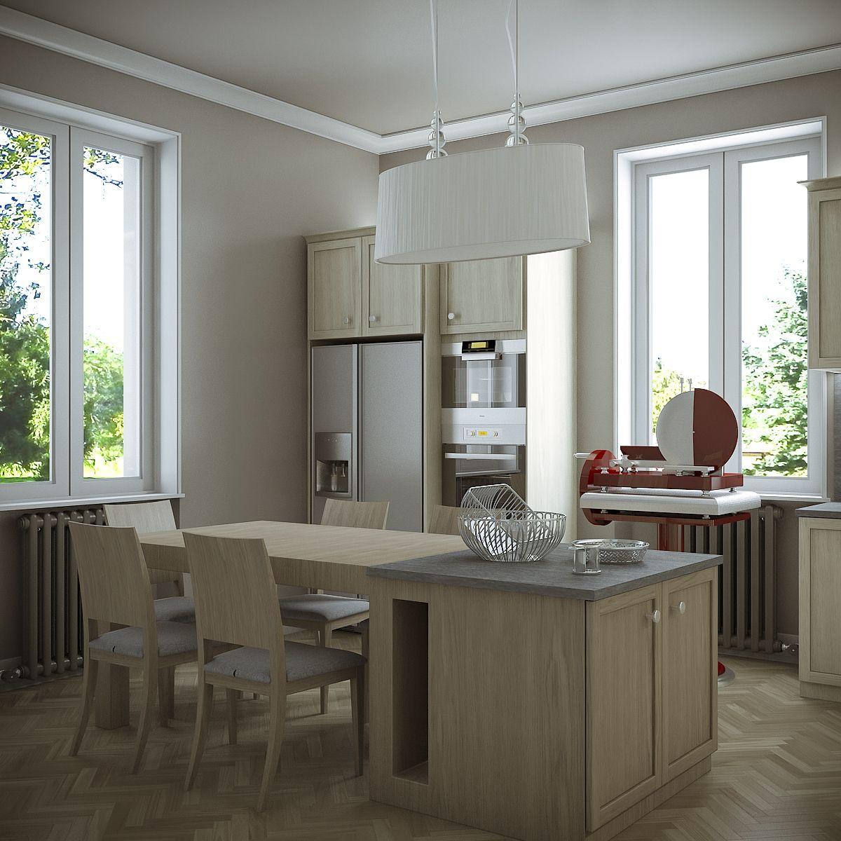 Family Home - Kitchen 78