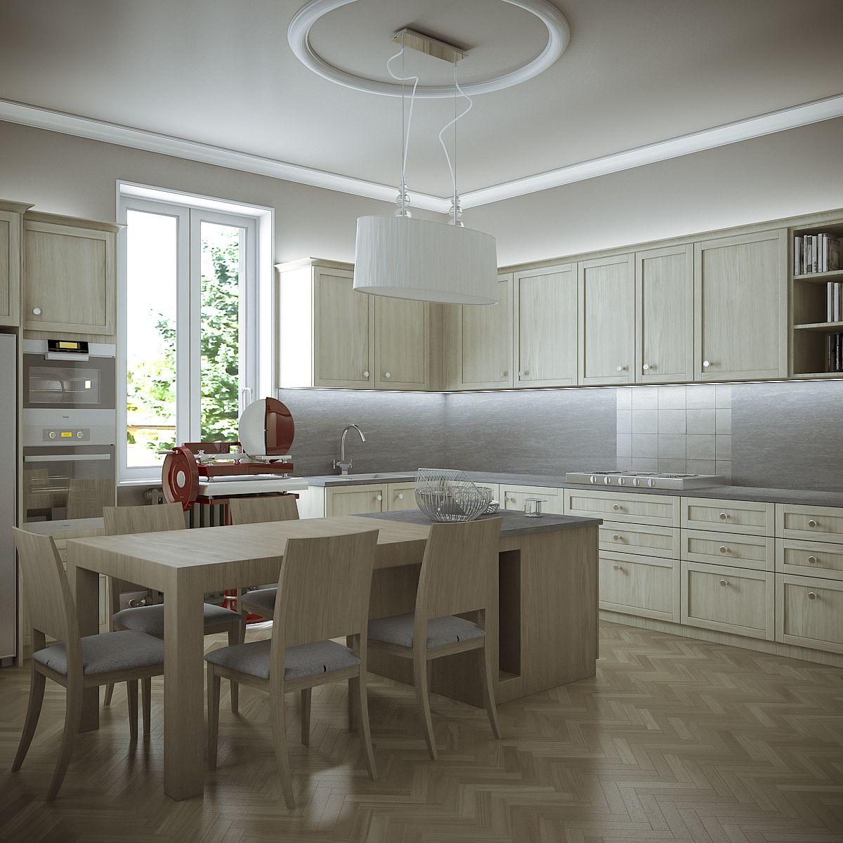 Family Home - Kitchen 79