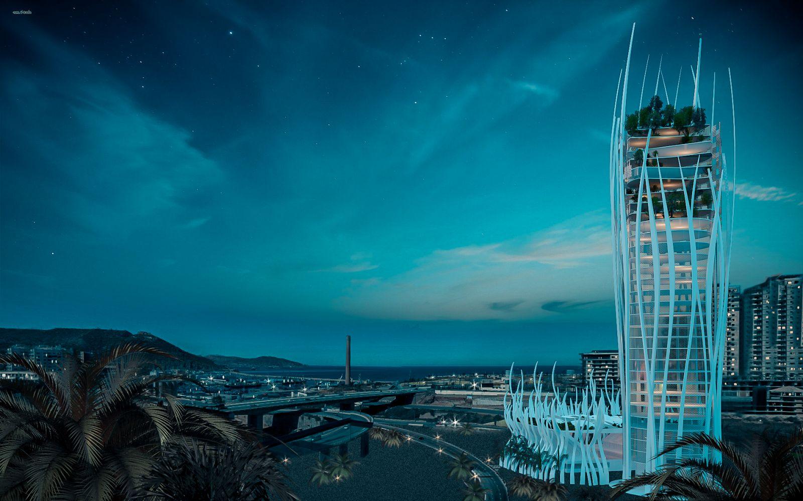 Olympic Pavilion Oran - Concept 818