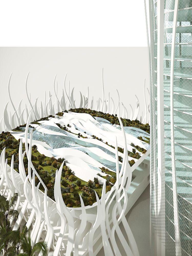 Olympic Pavilion Oran - Concept 819
