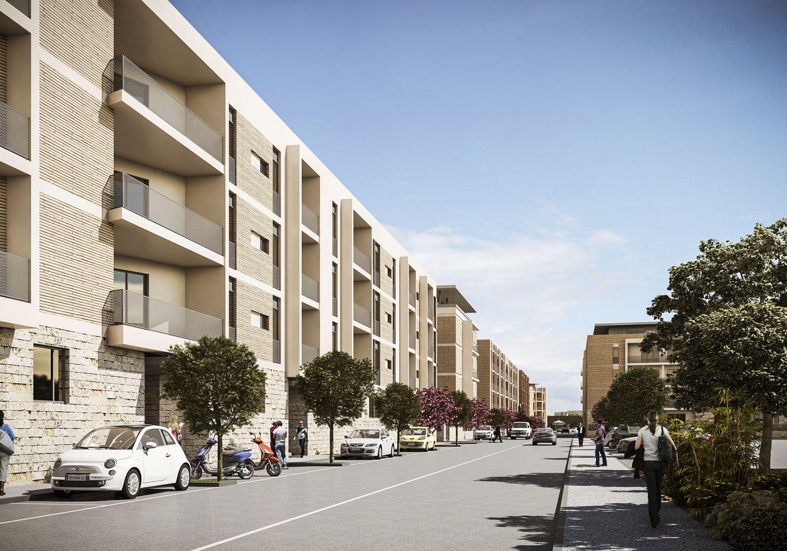Housing Pietralata 854