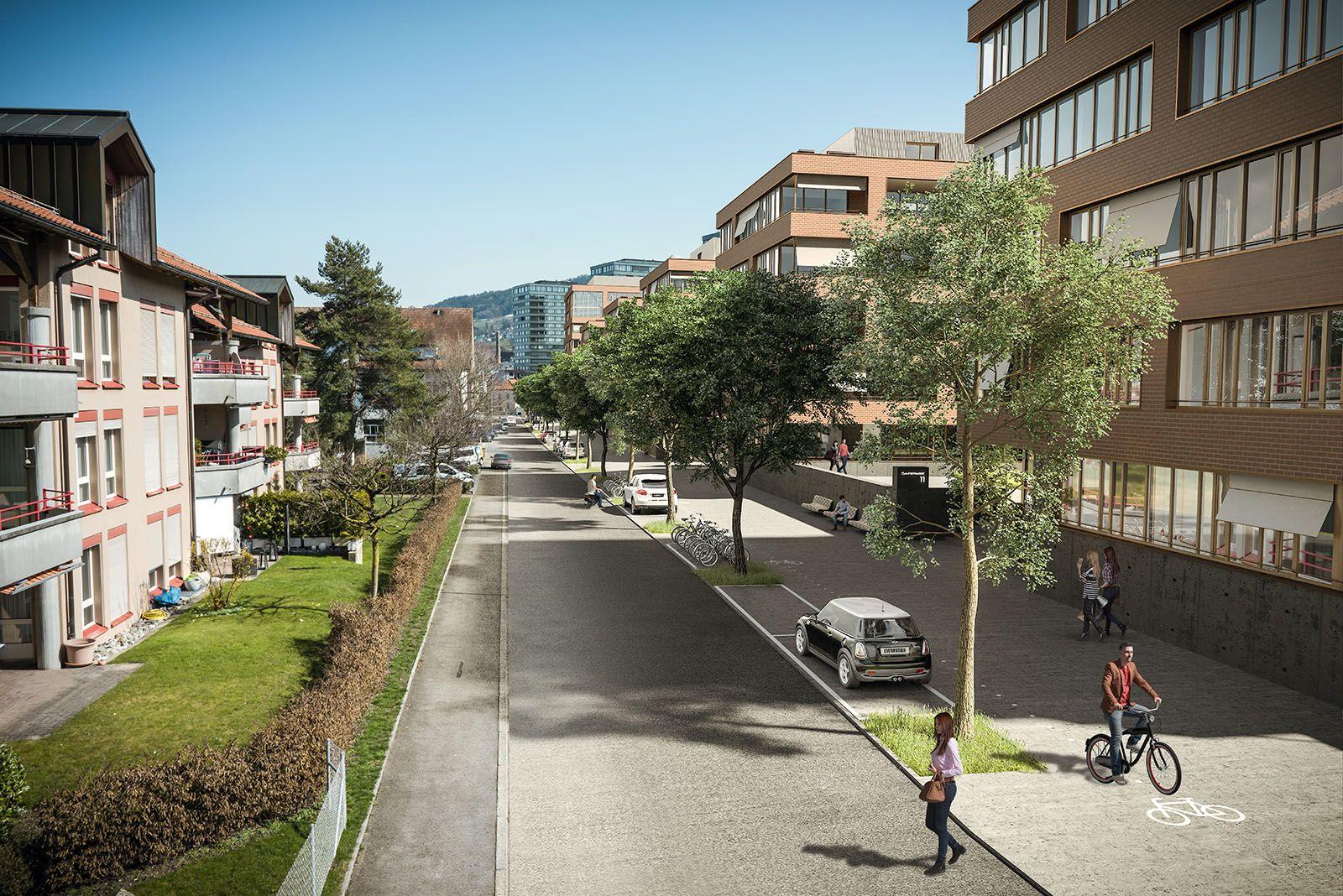 Arealentwicklung Säntisstrasse 1001