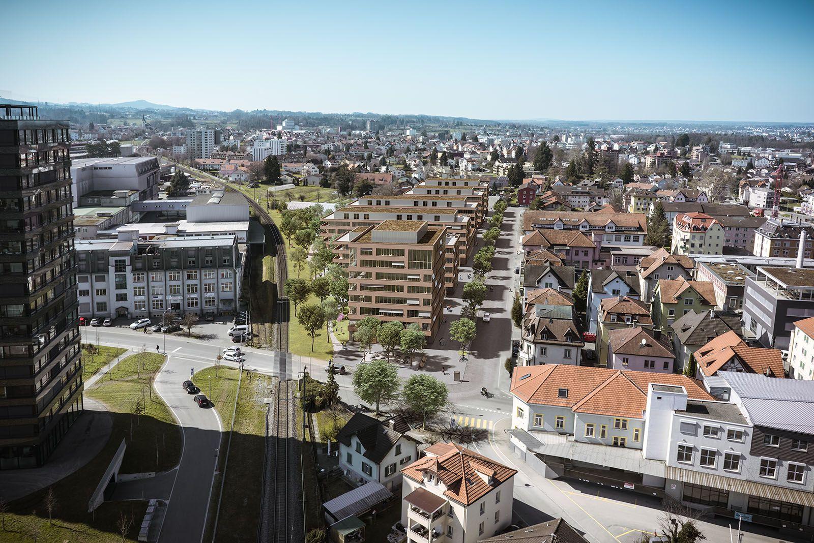 Arealentwicklung Säntisstrasse 998