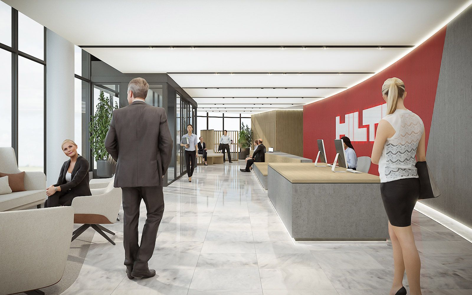 Hilti - Paris Offices 1018