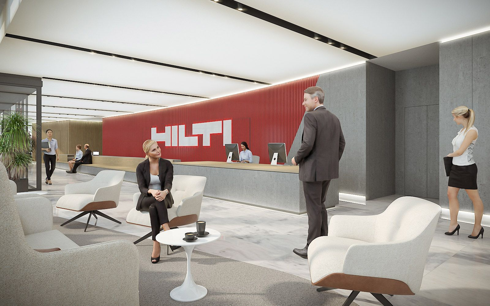 Hilti - Paris Offices 1020