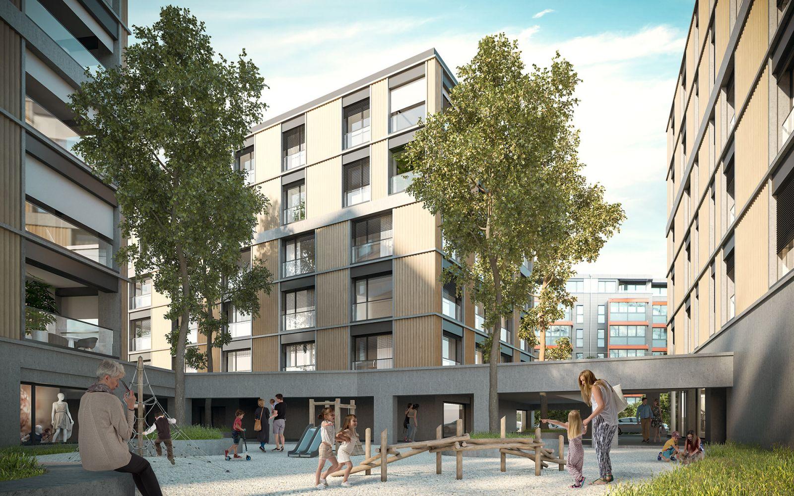 Portes de Bulle - Housing 1081