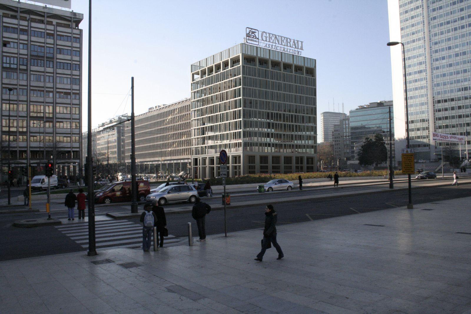 Office Building - Stazione Centrale Milan 468