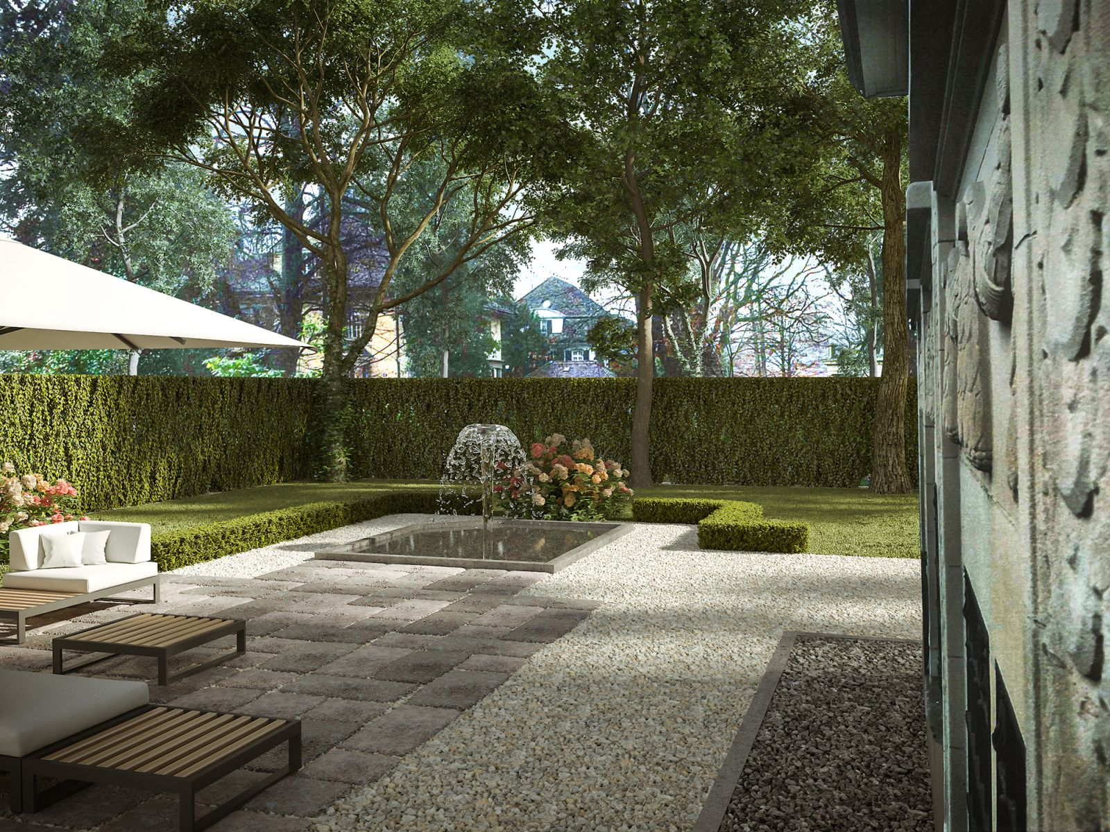 Private Garden 522