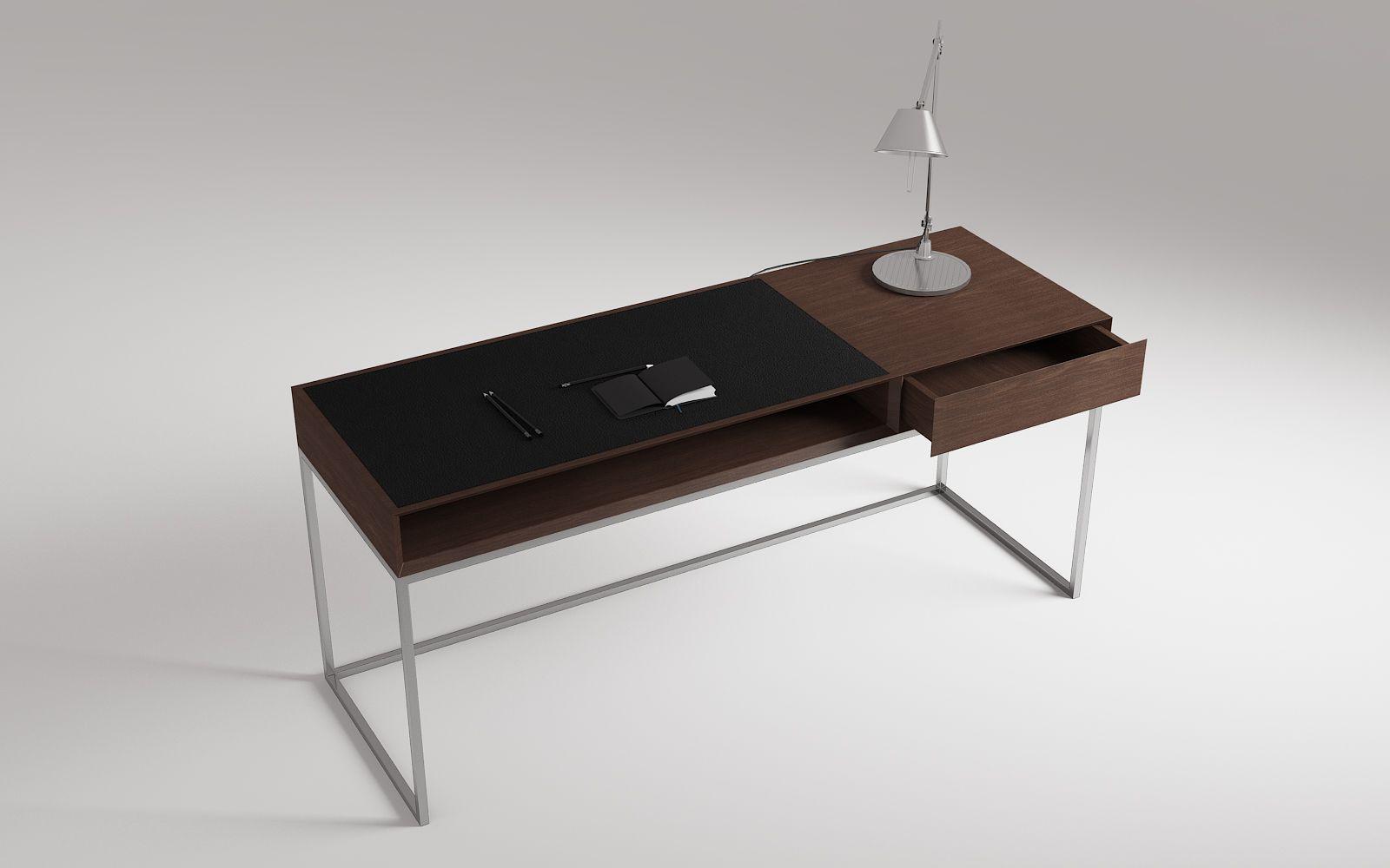 Wood Desk 658