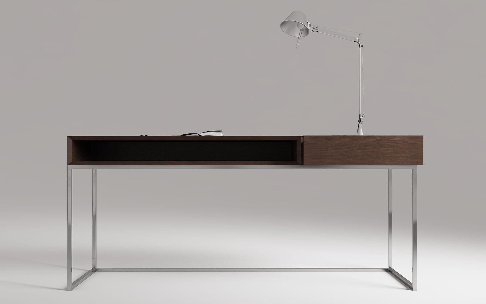 Wood Desk 659