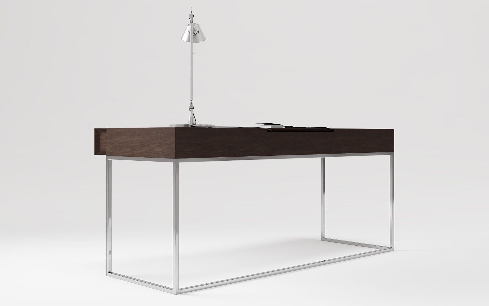 Wood Desk 661